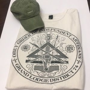 Obey Shirt & Hat Bundle